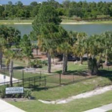 Poppleton Creek Dog Park in Stuart FL