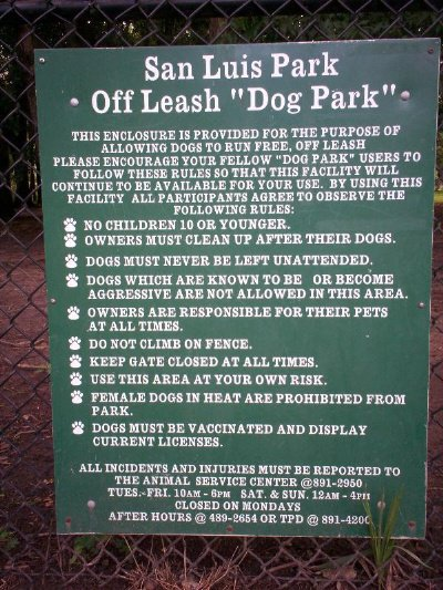 Mission San Luis Dog Park