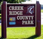 Bark Park at Creek Ridge County Park in Michigan City IN