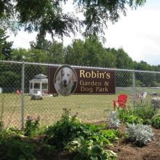 Robin's Garden & Dog Park in Lewiston ME