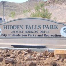 Hidden Falls Park Dog Park in Henderson NV