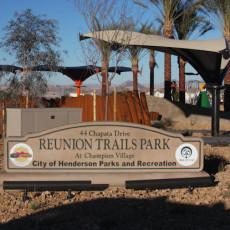 Reunion Trails Park Dog Park in Henderson NV