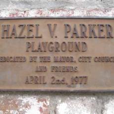 Hazel Parker Park Dog Run in Charleston, SC