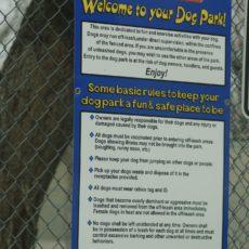 Sheridan Dog Park in Sheridan, Wyoming