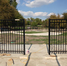 White Rock Lake Dog Park at Mockingbird Point Park Dallas