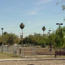 Papago Park Dog Park in Tempe Arizona