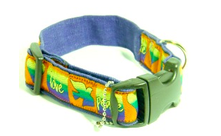 Carly Dog Collar from Earth Dog