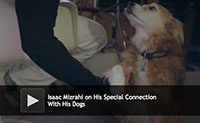 Isaac Mizrahi and His Dog