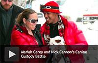 Mariah Carey and Nick Cannon's Canine Custody Battle