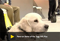 Paws-on Demo of the Tagg GPS Plus