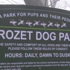 Claudius Crozet Park Dog Park in Crozet VA