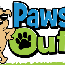 Paws Out 4 colors dark bg