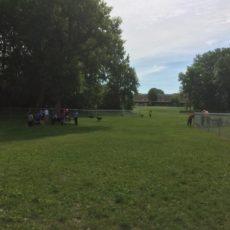 Community Dog Park in Albert Lea, Minnesota