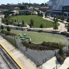 Riverfront Dog Park Downtown Nashville