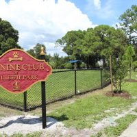 The Canine Club Dog Park in Gillespie Park