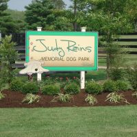Judy Rains Memorial Dog Park in Lake Reba Park