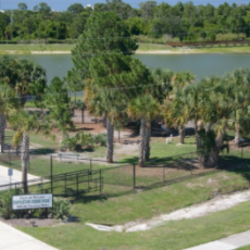 Poppleton Creek Dog Park in Stuart FL