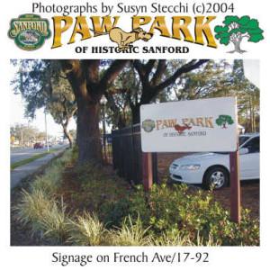 Paw Park in Sanford, FL