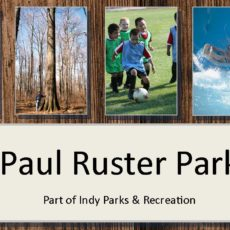 Paul Ruster Park Dog Park in Indianapolis, IN