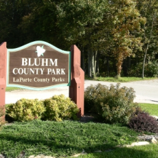 Bluhm County Park Dog Park in Westville IN