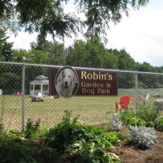 Robin's Garden & Dog Park in Lewiston ME