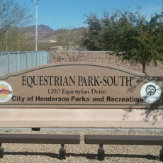 Equestrian Park South Dog Park in Henderson NV