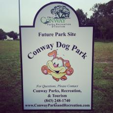 Conway City Dog Park in Conway, SC