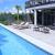 Cape San Blas dog friendly beach rental heated saline lap pool