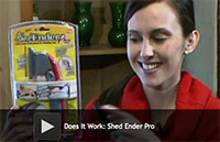 Does It Work: Shed Ender Pro