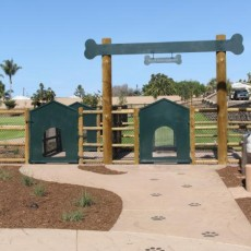 Maggie Houlihan Memorial Dog Park in Encinitas CA