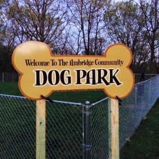 Ambridge Community Dog Park in Ambridge PA