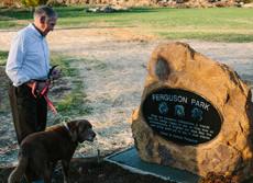 Ferguson Dog Park in Bloomington IN