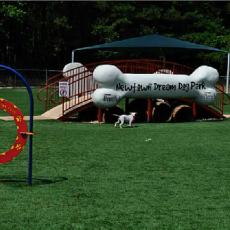 Newton Dream Dog Park in North Fulton