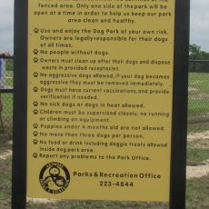 Ardmore Regional Dog Park in Ardmore, Oklahoma