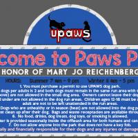 UPAWS Dog Park