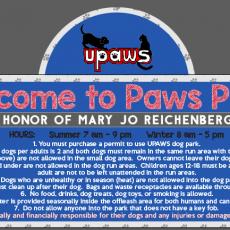 UPAWS Dog Park in Gwinn Mi