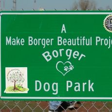 Borger Dog Park in Borger Texas