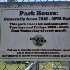 The Bark Park at Pelican Park Dog Park - Dog Park in Mandeville LA